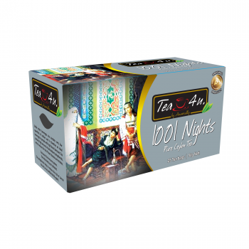 1001 Nights Single Chamber Tea Bags  - With Envelope