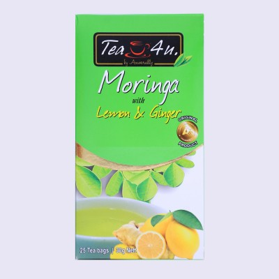Moringa with Lemon & Ginger Herbal Tea 25tb