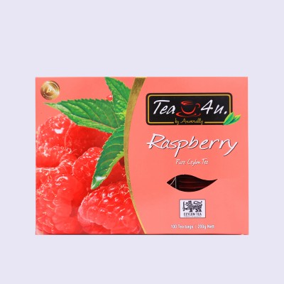 Raspberry Ceylon Black Tea 100tb