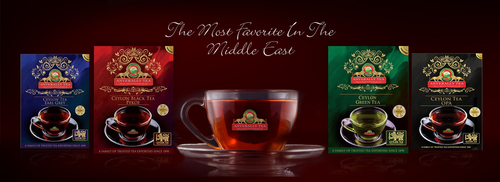 Anverally Tea - The most favorite in the Middle East