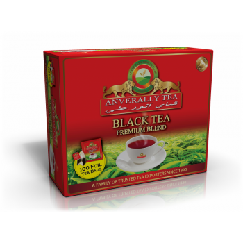 Black Tea Double Chamber Tea bags - With Envelope