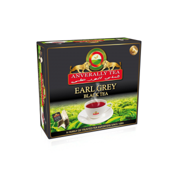 Ceylon Black Earl Grey Double Chamber Tea bags - Without Envelope