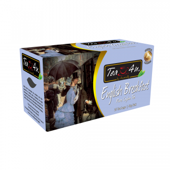 English Breakfast Single Chamber Tea Bags - With Envelope