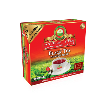 Anverally Extra Strong Double Chamber Tea bags - Without Envelope