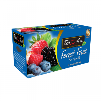 Forest Fruit Single Chamber Tea Bags - With Envelope