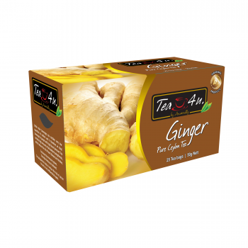 Ginger Single Chamber Tea Bags - With Envelope