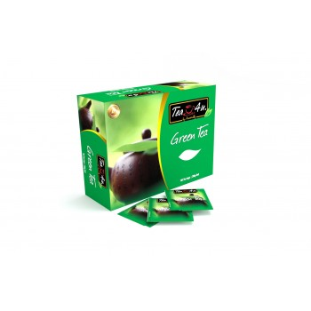 Pure green Tea Single Chamber Tea Bags - With Envelope