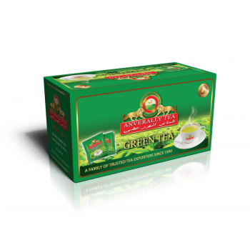 Green Tea Single Chamber Tea Bags - With Envelope