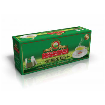 Green Tea Single Chamber Tea Bags - Without Envelope