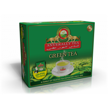 Green Tea Double Chamber Tea Bags - With Envelope