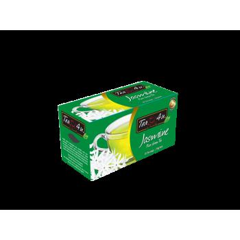TEA4U Jasmine Green Tea Single Chamber Tea Bags - With Envelope