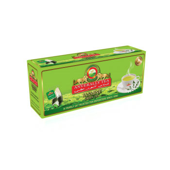 Jasmine Green Tea Double Chamber Tea Bags - Without Envelope