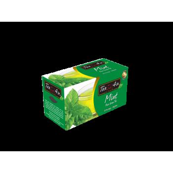 Mint Green Tea Single Chamber Tea Bags - With Envelope