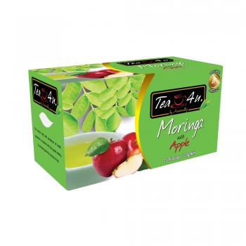 Moringa with Apple Single Chamber Tea Bags - With Envelope