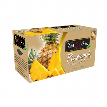 Pineapple Single Chamber Tea Bags - With Envelope Packets