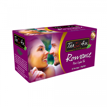 Romance  Single Chamber Tea Bags - With Envelope