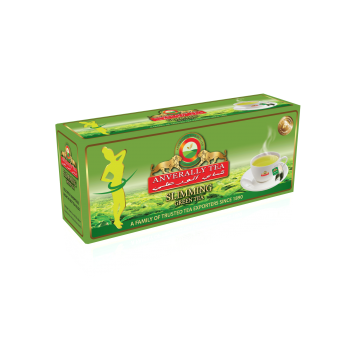 Slimming Green Tea Double Chamber Tea Bags - Without Envelope