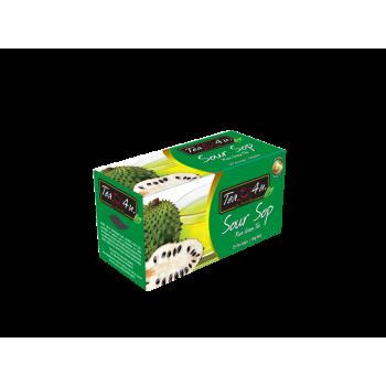 Soursop Green Tea Single Chamber Tea Bags - With Envelope