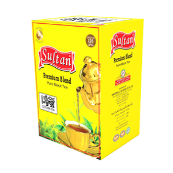 Sultan Premium Blend Pure Black Tea 100g Packet