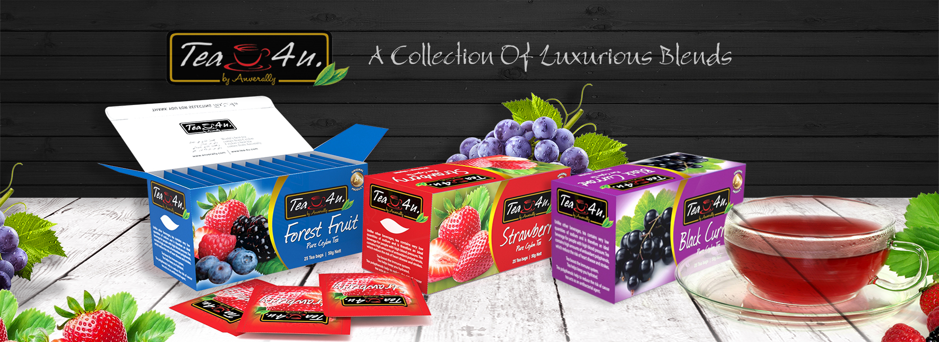 Tea 4 U - A Collection of luxurious Blends