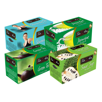 TEA4U Selection 06 -  WITH ENVELOPE TEA BAGS