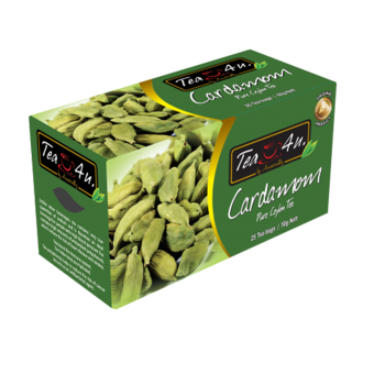 Cardamom Single Chamber Tea Bags - With Envelope