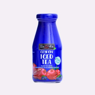 Ceylon  Iced Black tea-Pomegranate & Blueberry (Zero Sugar)- 200ml
