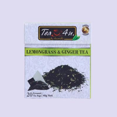 Lemongrass & Ginger Ceylon Black Tea 20tb