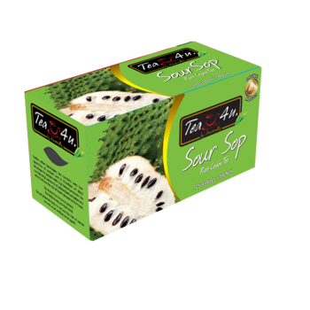 Soursop Single Chamber Tea Bags - With Envelope